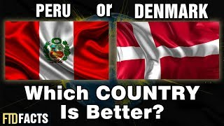 DENMARK or PERU - Which Country Is Better?