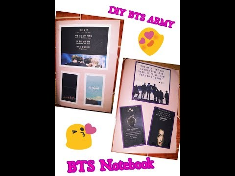 DIY BTS NOTEBOOK_BACK TO SCHOOL