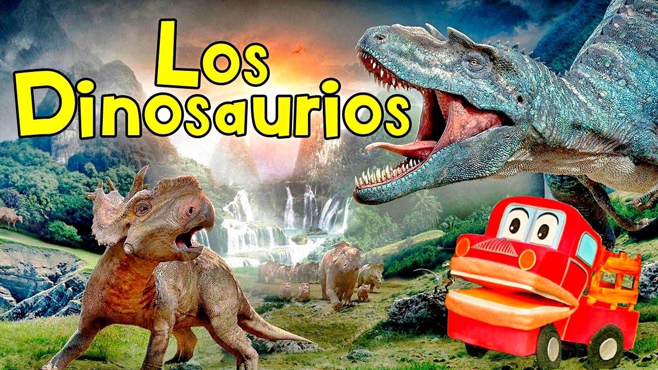 Canciones Infantiles - Los Dinosaurios más Famosos - Barney El Camión - Videos Educativos #