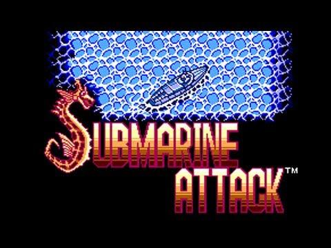 Submarine Attack - Sega Master System