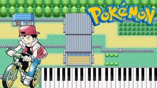 Pokemon Kanto Johto Hoenn Bicycle Theme on Piano