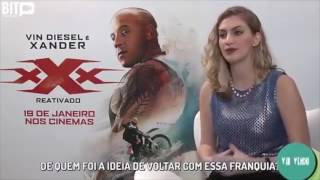 Video Vin Diesel Sexually Harassed A Brazilian Reporter During Interview download MP3, 3GP, MP4, WEBM, AVI, FLV November 2017