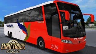Euro Truck Simulator 2 – Mod Bus   Pluma   Rio de Janeiro/Foz do Iguaçu - RBR + Detail Map
