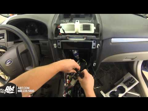 2011 Ford Fusion Dash Replacement With Metra Dash Kit...