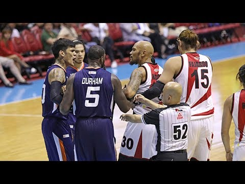 Nabong ejected | PBA Governors' Cup 2019