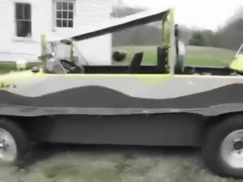 Homemade Amphibious Boat Car - YouTube