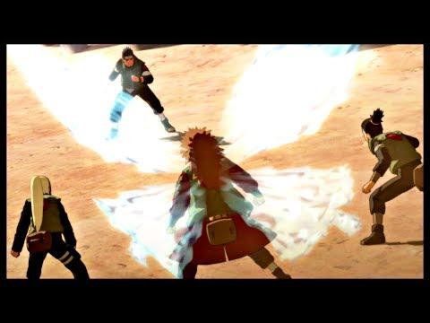 Choji Transforms into Butterfly - Naruto Shippuden Ultimate Ninja Storm 3 Game - Asuma Sensei |