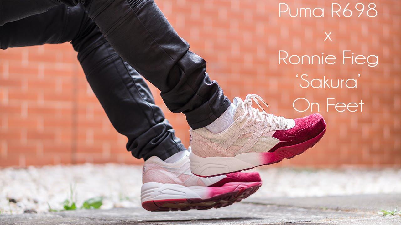 Puma R698 x Ronnie Fieg 'Sakura' On