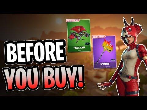 Tricera Ops | Bitemark | Fossil Flyer - Before You Buy - Fortnite