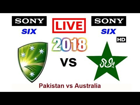 Sony Six live telecast Pakistan vs Australia 2018 series UAE in India
