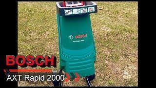bosch AXT Rapid 2000 отзыв, опыт использования