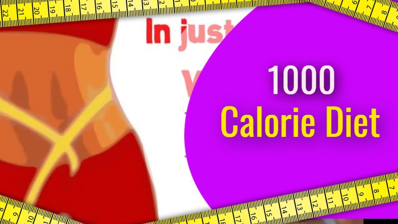 1000 calorie diet-Can You Lose Weight By Only Eating 1000 Calories A Day