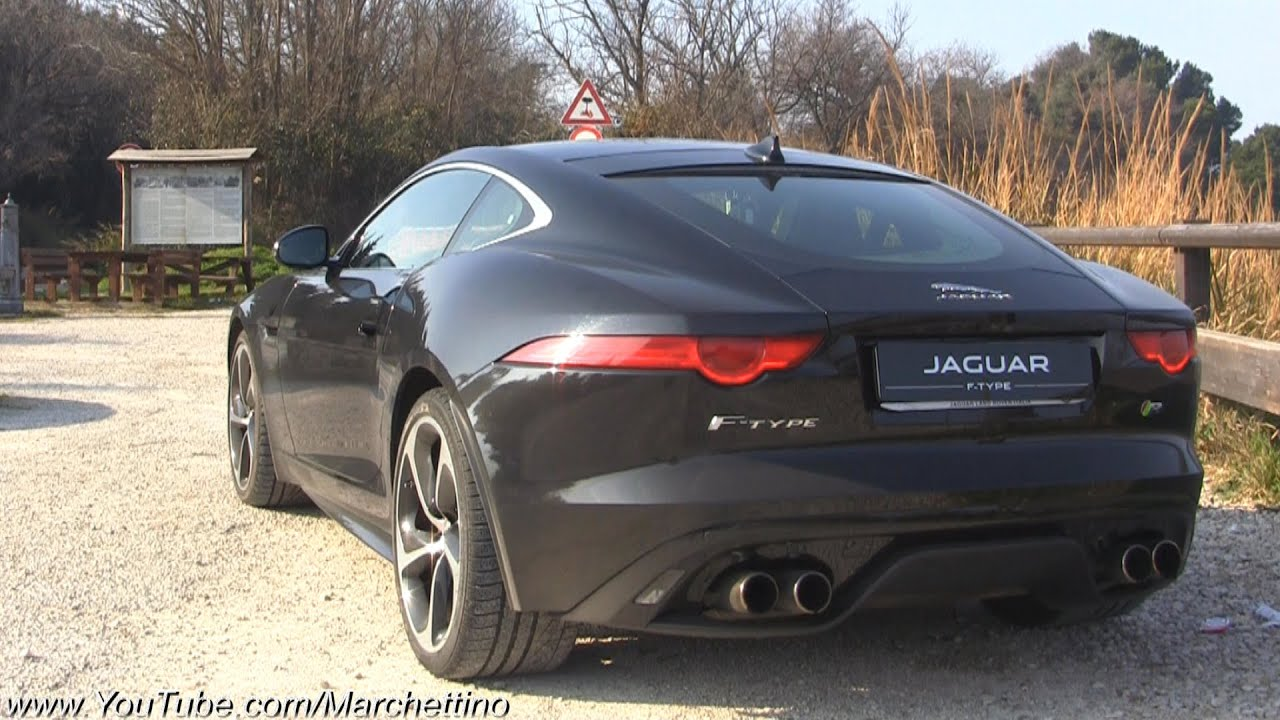 jaguar f type r insane v8 roar youtube. Black Bedroom Furniture Sets. Home Design Ideas