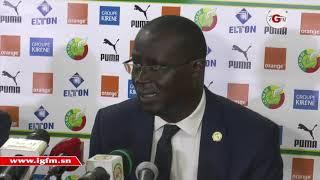 """Me Augustin Senghor, président FSF : """"nos équipes nationales ont fait des progrès notables"""""""