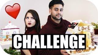 LEBKUCHENHAUS CHALLENGE EXTREM! - Girlfriend vs Boyfriend | Sanny Kaur