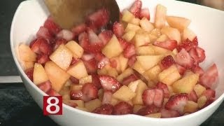 In The Kitchen: Pomegranate-watermelon Salad With Mint And Rosewater