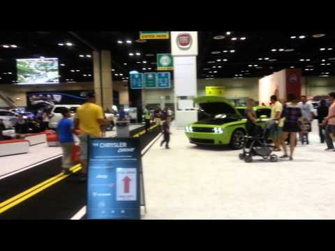 central florida international auto show 2014 2015 dodge charger toyota orlando fl youtube. Black Bedroom Furniture Sets. Home Design Ideas
