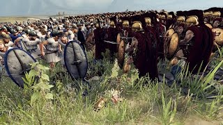 300 SPARTA VS 5000 ILLYRIAN LEVYS - MASSIVE BATTLE TOTAL WAR ROME 2
