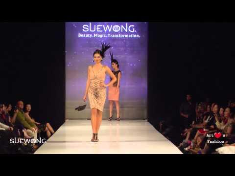"""Sue Wong """"Mythos & Goddesses"""" Art Hearts Fashion FW/15"""