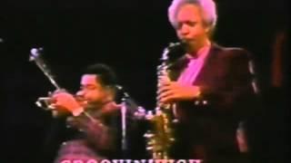 Dizzy Gillespie e Sonny Stitt Quinte with Al Gaffa e Mickey Rocker in Belgium , 1974