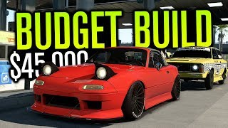 BUDGET BUILD RETURNS!!! $45,000 BUILD! | Need for Speed Payback Online Freeroam