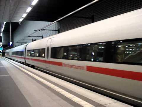 ICE Train from Berlin to Hamburg - 20 November 2011