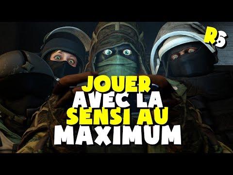 JOUER AVEC LA SENSI AU MAX ! - Rainbow Six Siège FR