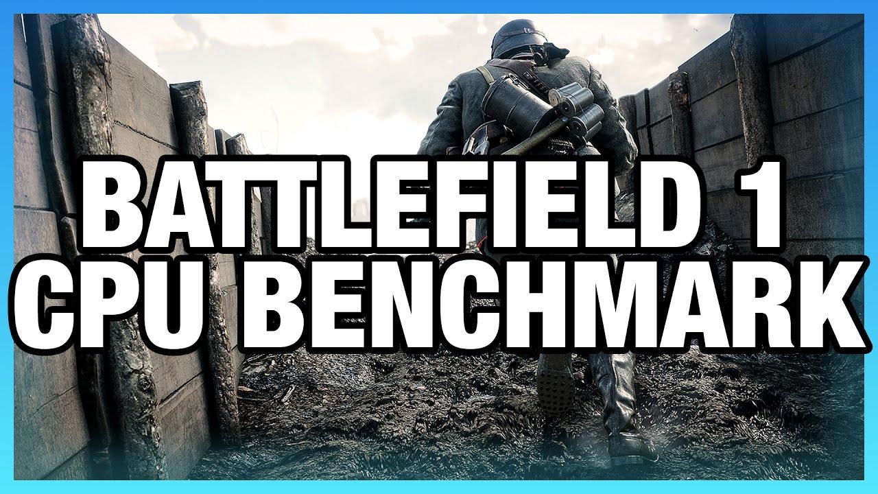 Battlefield 1 CPU Benchmark (Dx11 & Dx12) - i7 vs  i5, i3