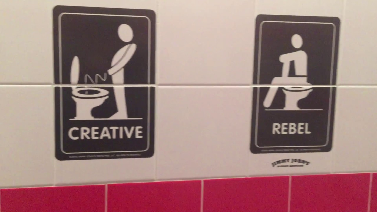 Jimmy John S Funny Bathroom Tiles Youtube
