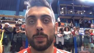 19-10-1016: #SuperLega Giulio Sabbi dopo la sconfitta al tie break con Piacenza