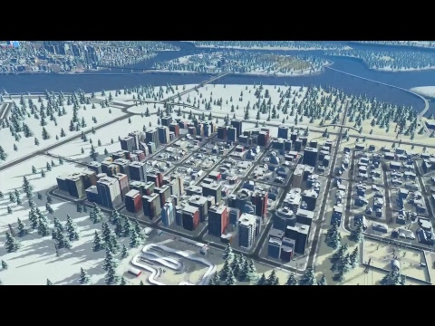 Cities: Skylines - Strife in a Northern Town #2 (PS4 Pro)