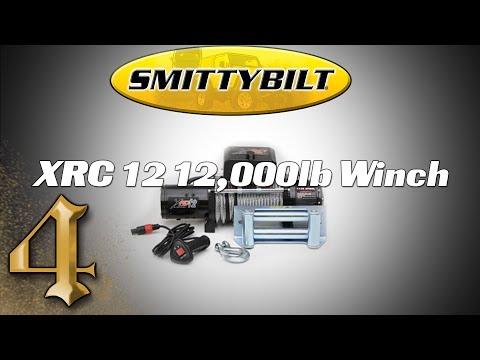 Smittybilt XRC 12 - 12,000lb Winch