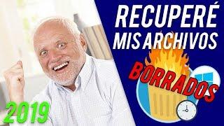 COMO RECUPERAR ARCHIVOS BORRADOS 2019 | Fotos, Vídeos, Discos Duros, USB, SD [Nuevo Método 2019]