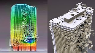 World Trade Center 7 Collapse Simulation - Blender Fracture Case Study