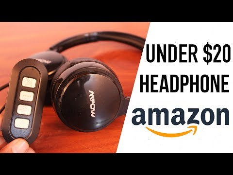 Mpow USB/3.5mm Computer Headset | Business Headphones for Skype and Call Center (UNBOXING) UNDER $20
