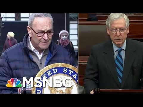McConnell And Schumer Will Meet To Discuss Power Sharing Agreement For The Senate   Hallie Jackson
