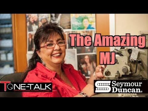 Ep. 24  - MJ of the Seymour Duncan Custom Shop on Tone Talk!  Anniversary Show!