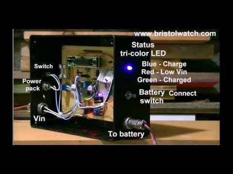 Arduino Battery Charge Controller for Solar Panels