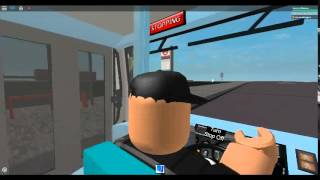 Roblox London Hackney & Limehouse bus simulator on Wright Gemini 2 on Route 106