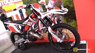 2015 Gas Gas EC 125 Motocross Bike - Walkaround - 2014 EICMA Milan Motorcycle Exhibition