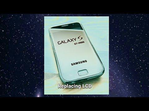 Samsung Galaxy S GT-I9000 LCD Replacing.  Reparar LCD Galaxy S. Galaxy S LCD Reparatur.