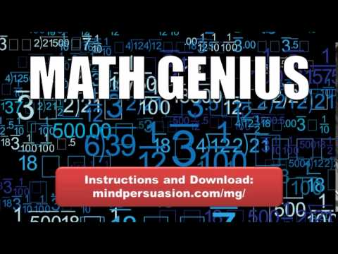 Math Genius   Unleash Your Brilliance   Solve All Problems Quickly and Easily