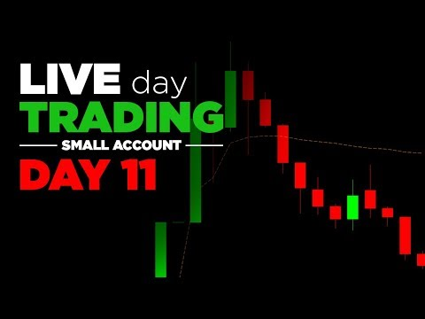 LIVE Trading | Day 11: Small Account - Big red day, big mistakes