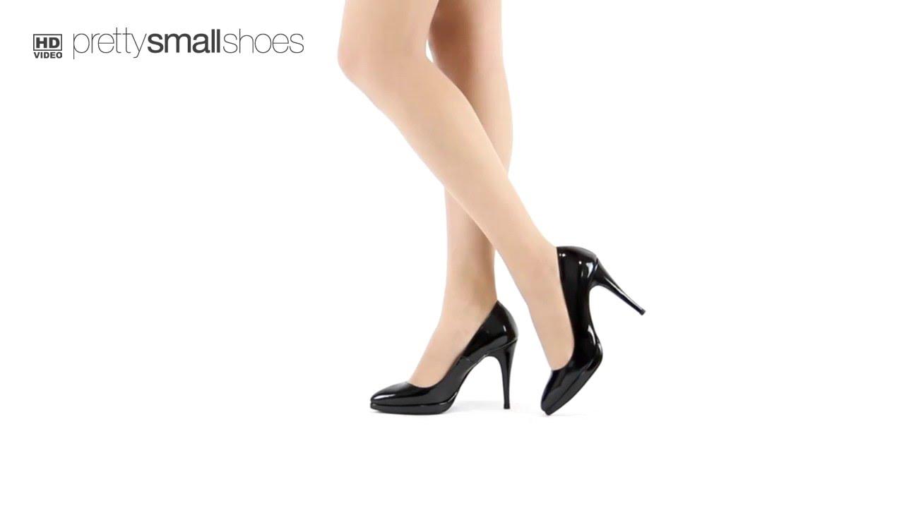 b7ebea006 BACKtoBLACK - Classic Black Patent Platform High Heel - YouTube
