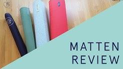 Mattenreview: grüne eco Yogamatten