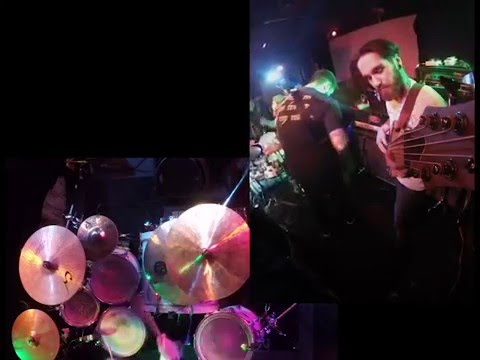Serpens Cauda Live @ Diamondz  Jerome, ID 12/07/2015 GoPro Bass and Drum cam