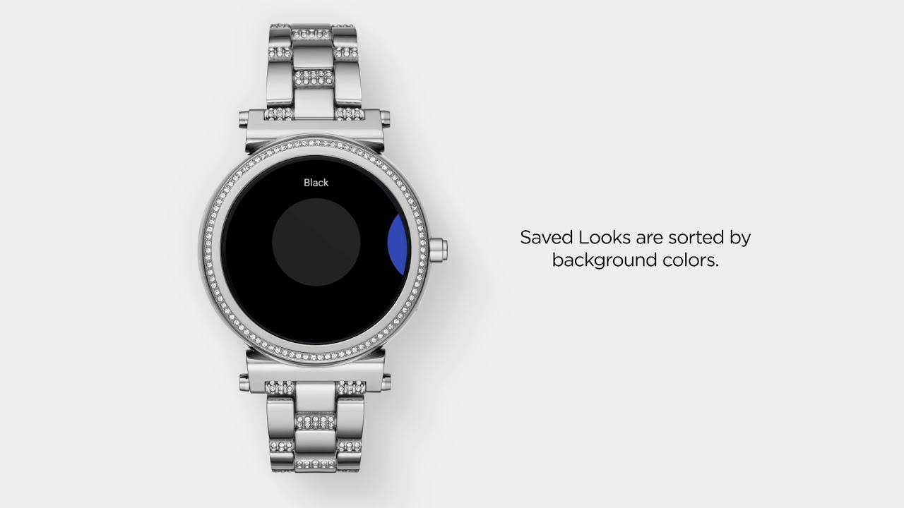 Michael Kors Zugang Sofie Smartwatch | Meine Looks verwenden