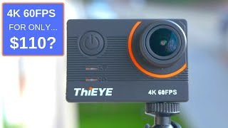 The Cheapest Good 4K 60FPS Action camera: ThiEye T5 Pro. Review & Test