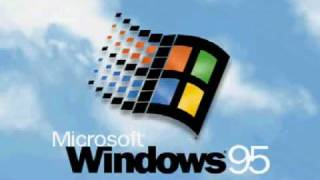 なつかしのWindows95再現ムービー [ Microsoft Windows 95 Operating System ]