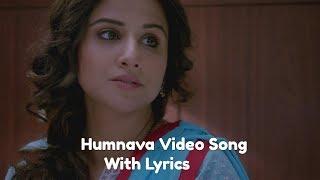Humnava Lyrics | Hamari Adhuri Kahani | Emraan Hashmi | Vidya Balan